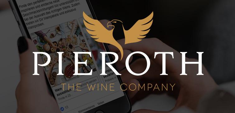 Pieroth - chatlogue setzt innovativen Chatbot um